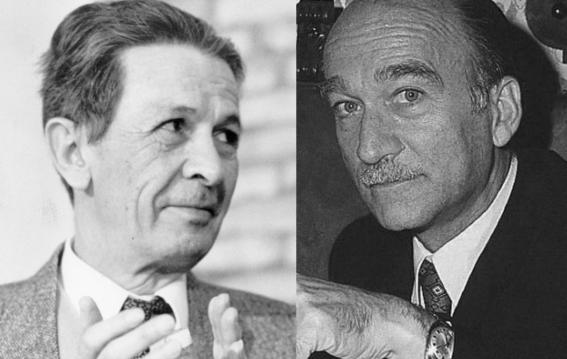Enrico Berlingue e Giorgio Almirante