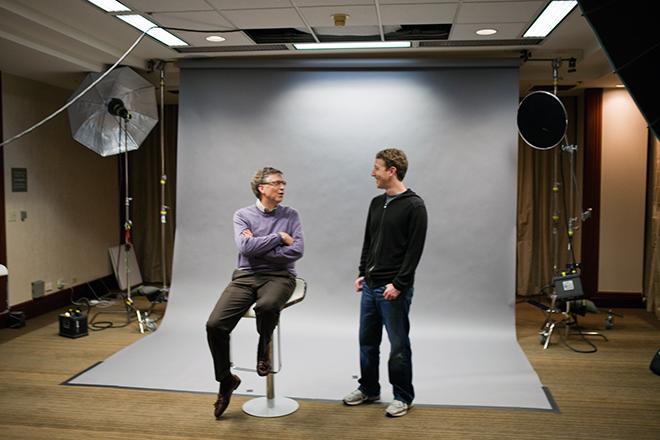Gate e Zuckerberg insieme per la copertina di Wired