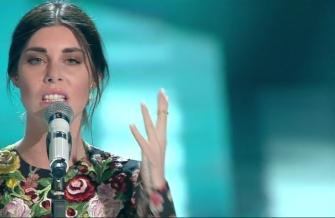 Bianca Atzei: voto 5 Manca un po' tutto, tranne la voce. Un vero spreco